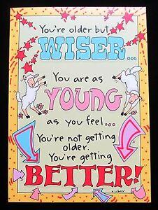 Oatmeal Studios Greeting Card Birthday Humor Funny Fantasy Multi Color R332