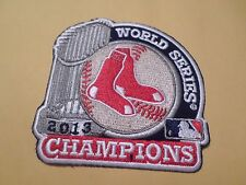 "2013 BOSTON RED SOX WORLD SERIES CHAMPIONS PATCH 3 1/2"" X 3 1/2"""