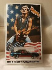"AMERICAN CLASSIC ROCK BRUCE SPRINGSTEEN'S ""BORN IN THE USA"" CUSTOM HOTWHEELS!"