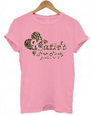 PERSONALISED NAME LEOPARD PRINT heart animal print, HEN DO/ NIGHT/ PARTY T SHIRT