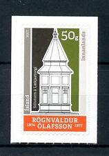Iceland 2017 MNH 1st Architect Rognvaldur Olafsson 1v Set Architecture Stamps