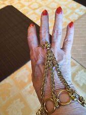 Swarovski Silk Armor Slave or Ring Bracelet