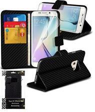 Glänzende Schutzhüllen aus Leder für Samsung