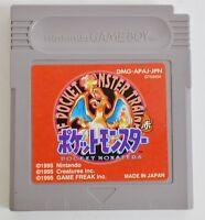 Nintendo Gameboy Pokemon Red Version Pocket monsters GB Japan F/S
