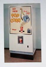 Auto-Pop Popcorn Vending Machine 1961 Advertising Postcard