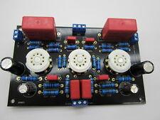 1 Stück ECC82 12AU7/ECC88 6922 6DJ8vergoldeten Röhren-Vorverstärker pcb assemled