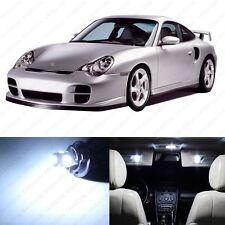 10 x Error Free White LED Interior Light Package For 1998 - 2004 Porsche 911 996