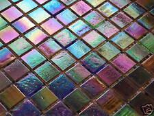 Glasmosaik Fliesen Mosaik PERLMUTTEFFEKT - 2,17 qm