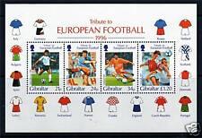 Gibraltar 1996 European Football MS775 MNH