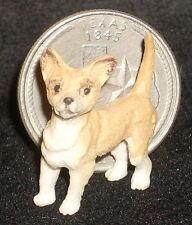 Dollhouse Miniature Standing Miniature Chihuahua Dog 1:12 or 1:24 Animal A0580S