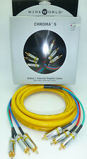 WireWorld Chroma 5  1.5 meter Component video cable Wire World