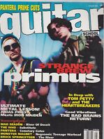 AUG 1995 GUITAR SCHOOL vintage music magazine PRIMUS - PANTARA