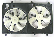 2008-2009 Toyota Highlander Radiator/AC Fan Assembly w/o Tow Package 3.5 Liter