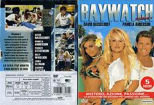 1 BOX 5 DVD FILM SERIE TV 90 PAMELA ANDERSON-BAYWATCH STAGIONE SEASON V COMPLETA
