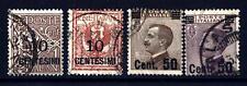 ITALIA - Regno - 1923 - Francobolli del 1901-1920 soprastampati