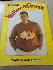 Wallace and Gromit Knitting Pattern Crochet Pull Out Booklet FREE POSTAGE