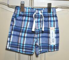 NEW JUMPING BEAN Boys COTTON Spring Summer Striped Shorts 12 18 24 Months