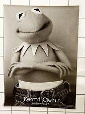 "Orig. KERMIT-Persiflage Poster • ""KERMIT CLEIN – UNDER WHERE?"" • HILARIOUS!!"