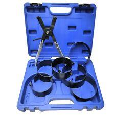 Piston Ring Compressor Set Ratcheting Self Adjusting Plier 73 - 111mm 6 Rings