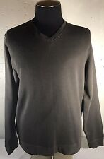Cutter & Buck V-Neck Long Sleeve Sweat Shirt Size Medium