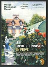 Caillebotte : Les Impressionnistes en privé - cartolina invito a Mostra