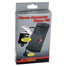 Lucky Reptile Termometro Higrometro Delux Pro LTH-34 Monitor de Terrario Vivarium