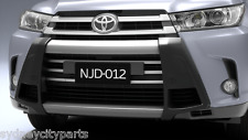 TOYOTA KLUGER NUDGE BAR GSU5# FROM NOV 16> GX GXL GRANDE GENUINE ACCESSORY