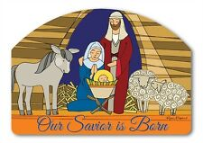 Yard designs *Stained Glass Nativity* Magnet yard art Magnet Works Christmas