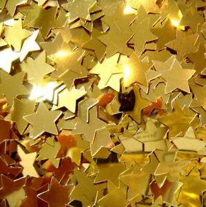 14g Large Gold Star Confetti Party Celebration Decorations Birthday Wedding Prop