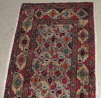 Afghanistan Hand Made Fine Turkmen Bokhara Antique Nice Rug Carpet Afghan Kuchi