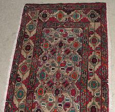 Afghanistan Hand Made Fine Turkmen Bokhara Persian Antique Rug Carpet Kuchi Art
