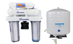 Oceanic Reverse Osmosis Drinking Water Filtration System Permeate Pump 100 GPD
