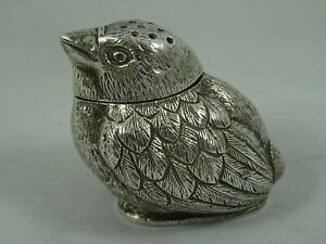 EDWARDIAN silver `CHICK` PEPPERETTE, 1901, 26gm
