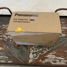 New Panasonic Kx-Tga710 Call Block Button