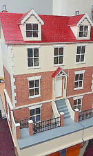 Willow Cottage Dolls House & Basement 1:12 Scale - Unpainted Collectable Kits