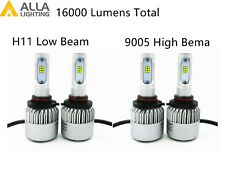 Alla Lighting LED High Low Beam Headlight Bulb Light Kit for SUBARU,Xenon White