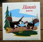 VINTAGE HAMM'S BEER SIGN WITH HAMM'S BEAVERS