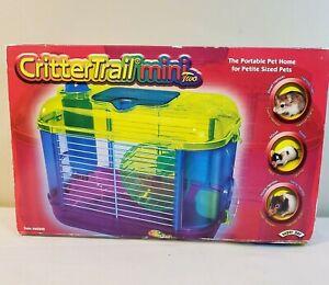 Kaytee CritterTrail Mini Two Portable Petite Habitat Hamster Mouse Cage - NEW