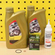 Vespa ET4 LX LXV S Primavera 125 Ölfilter Öl Agip eni i-Ride 5W-40 Ölwechsel Set