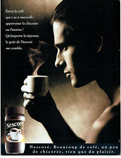 Publicité Advertising 038  1992   Nescoré de Nestlé  café & chicorée