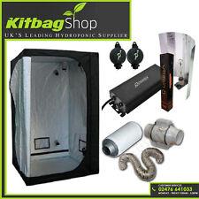 Best Complete Hydroponic Grow Room Tent Fan Filter Digital Kit 600w 120x120x200