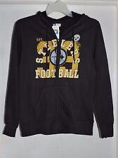 Pittsburgh Steelers Football Women's Full Zip Hooded Sweatshirt X-Large NWT