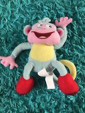 """8"""" Dora The Explorer BOOTS monkey Plush Soft Toy Cuddly Teddy"""