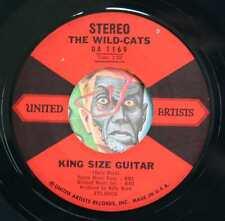 HEAR Wild Cats 45 King Size Guitar/Dancing Elephants rockabilly tittyshaker inst