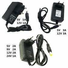 Power Supply Charger Adapter DC 5V 9V 12V 24V 1A 2A 3A Adaptor DC 5 9 12V  Volt
