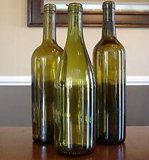 Empty Wine Bottles Without Labels - (1 Bottle Each), Wine Bottle Decorations