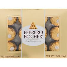 Ferrero Rocher Fine Hazelnut Chocolate 5.30 oz