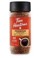 Tim Hortons Premium Instant Coffee, Medium Roast, 100g - Sealed Jar