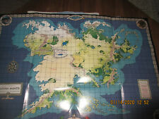 New listing Lotr - Map Of The Continent Of Middle Earth.Rare.