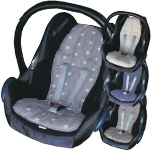 Hand Tailored Seat Liner to fit Maxi Cosi Cabriofix by Jillyraff